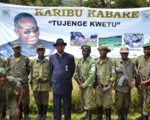 His Majesty KABARE and ecoguards